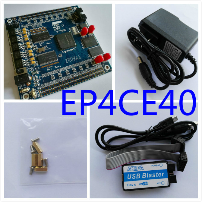 Free Shipping USB Blaster+ALTERA FPGA Cyclone IV  EP4CE40F23C8N Development Board fpga development board fpga altera board e10 free shipping altera fpga board altera board fpga development board ep4ce10e22c8n