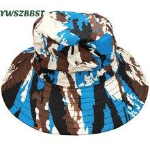 New Summer Sun Hats for Boys Girls Cap Women Men Breathable Fisherman Hat Children Sunscreen Caps Baby Kids Basin