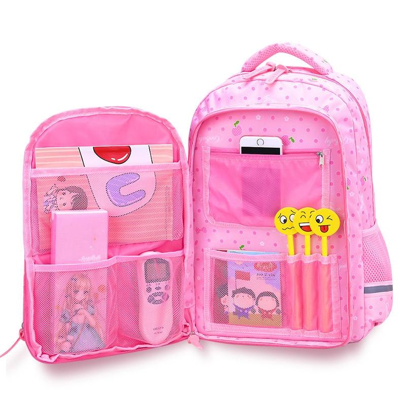 2019 New orthopaedics schoolbags waterproof school backpacks for teenagers girls kids backpack Children school bags mochila(China)