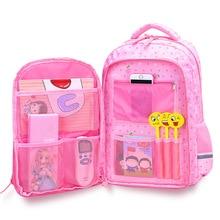 2021 New Orthopaedics Schoolbags Waterproof School Backpacks For Teenagers Girls Kids Backpack Children School Bags Mochila