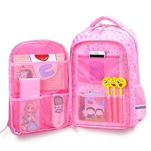 Image 1 - 2021 New Orthopaedics Schoolbags Waterproof School Backpacks For Teenagers Girls Kids Backpack Children School Bags Mochila