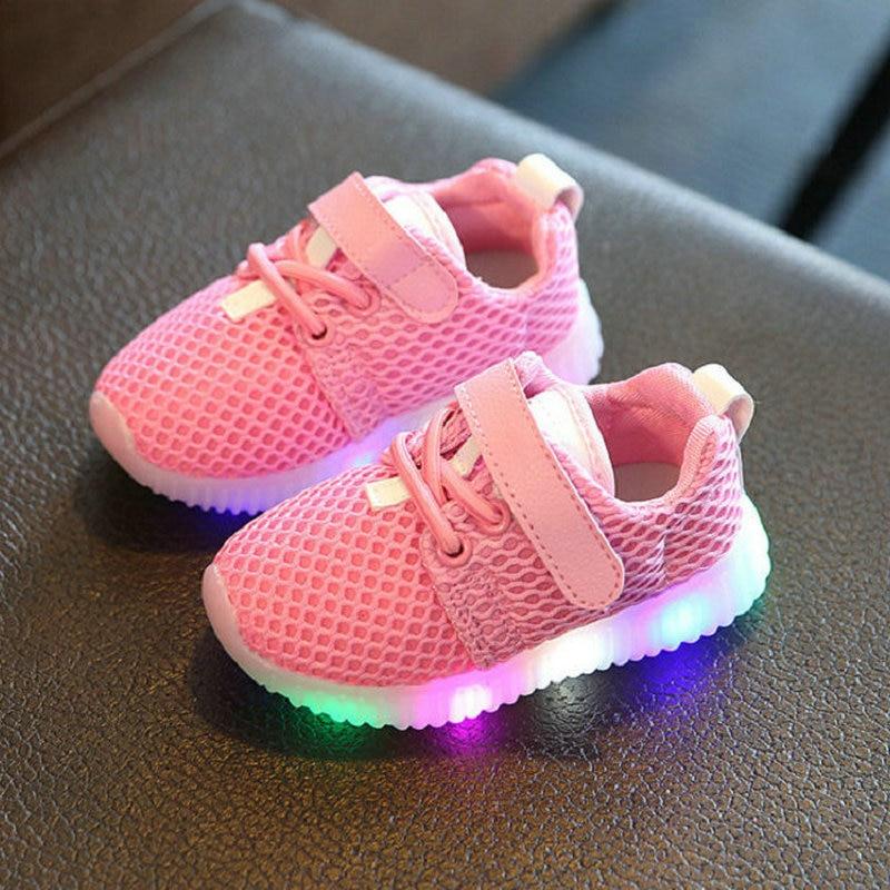 12a44b19987 Lapsed Kingad 2017 Uus moe-laste kingad kerge LED-valgustusega ...