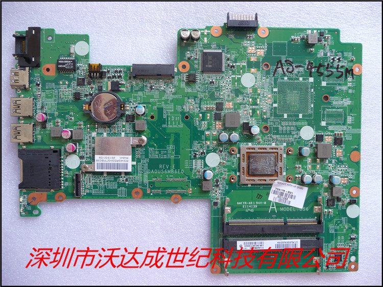 ФОТО 709175-501 709175-001 For HP Pavilion 15 Series Laptop Motherboard DA0U56MB6E0 Mother board 100% tested