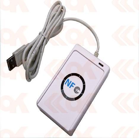 13.56 MHz card reader USB ACR122U RFID tags RFID Smart Card Reader Writer acr122u a9 13 56 mhz pc linked contactless smart rfid card reader writer