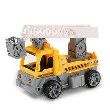 1/18 RC Caminhão Brinquedos Para Meninos Tijolos de Construção Da Cidade Blocos de Construção de Engenharia Escada Brinquedos Educativos Para Crianças Presentes 1801