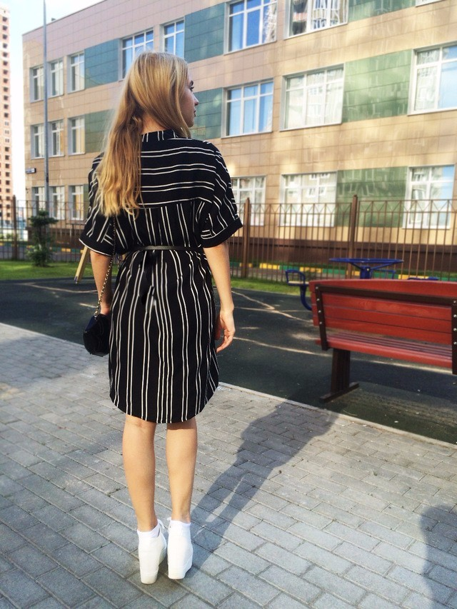 HTB1wwjIOVXXXXX4XpXXq6xXFXXX5 - 2017 Spring Summer Striped Blouse Half V Neck Female Tops