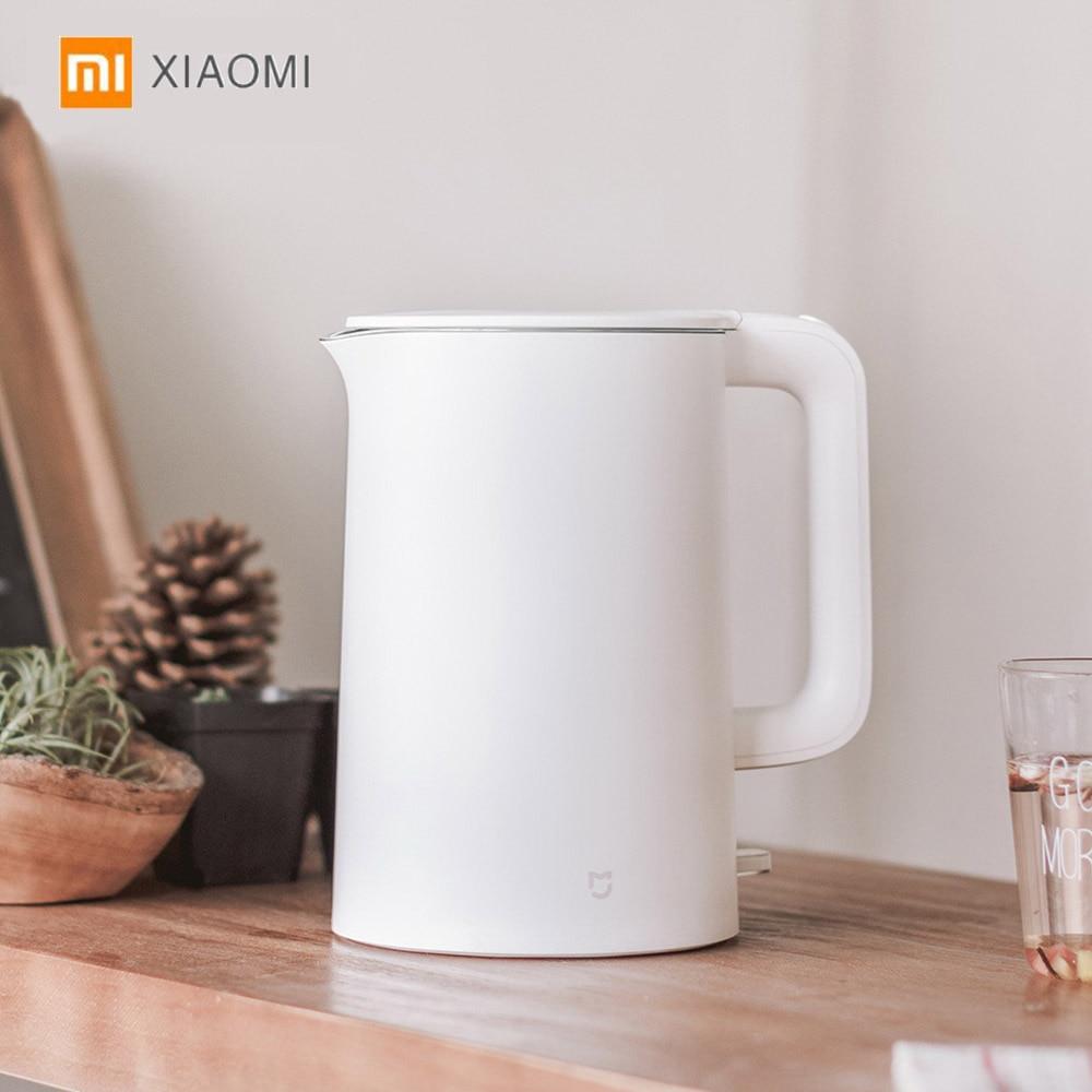 Оригинальный Xiaomi Mijia 1.5L Электрический чайник 1800 Вт Автоматическое отключение питания проводной Ручной мгновенный нагрев Электрический чай...