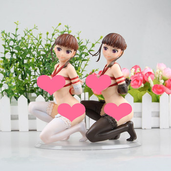 16cm Sexy Anime Action Figure Q-six Euphoria Manaka Nemu Tied Up PVC Model Adult Boys Gifts Collection Doll