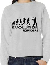 Evolution Of Rounders Sport Funny Adult Sweatshirt Birthday Gift More Size And Colors-E152
