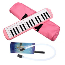 New style 32 Piano Keys Blue Pink Melodica Musical Instrument for Music Lovers Beginners Gift with Carrying Bag Drop Shipping