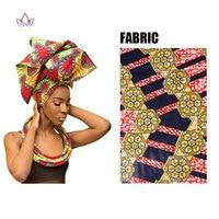 Handmade Bazin Riche African Wax Cotton Print Headtie and Necklace Dashiki African Accessories Women Head tie Choker WYB20