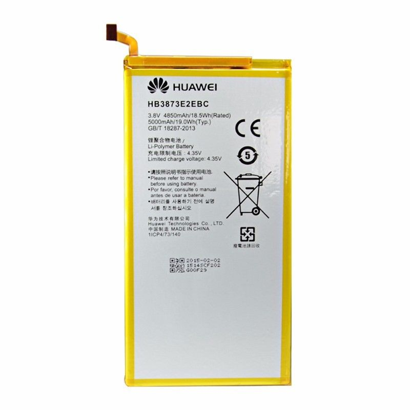 Original Huawei HB3873E2EBC Rechargeable battery For Huawei mediapad X2 Honor X1 7D-503L 7D-501U 5000mAh
