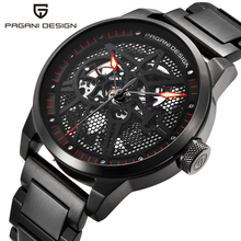 New PAGANI DESIGN Top Brand Luxury Men Mechanical Watches Sports Skeleton Automatic Self-Wind Waterproof Watch Relogio Masculino pagani design automatic watch men waterproof mechanical watches mens self winding horloges mannen dropship