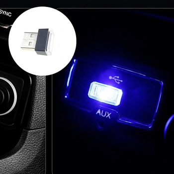 Car Universal USB LED Decorative Light Auto Parts for BMW 1 2 3 4 5 6 7 Series X1 X3 X4 X5 X6 325 328 F30 F35 F10 F18 GT E36 E3 image
