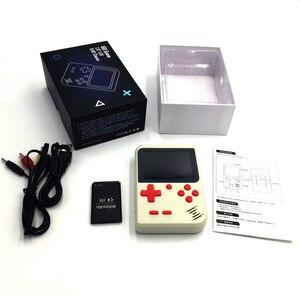 Image 2 - כף יד קונסולת משחקי וידאו משחק 8 ביט נייד מיני רטרו משחק קונסולת 168 משחקי ילדי ילד נוסטלגי נגן