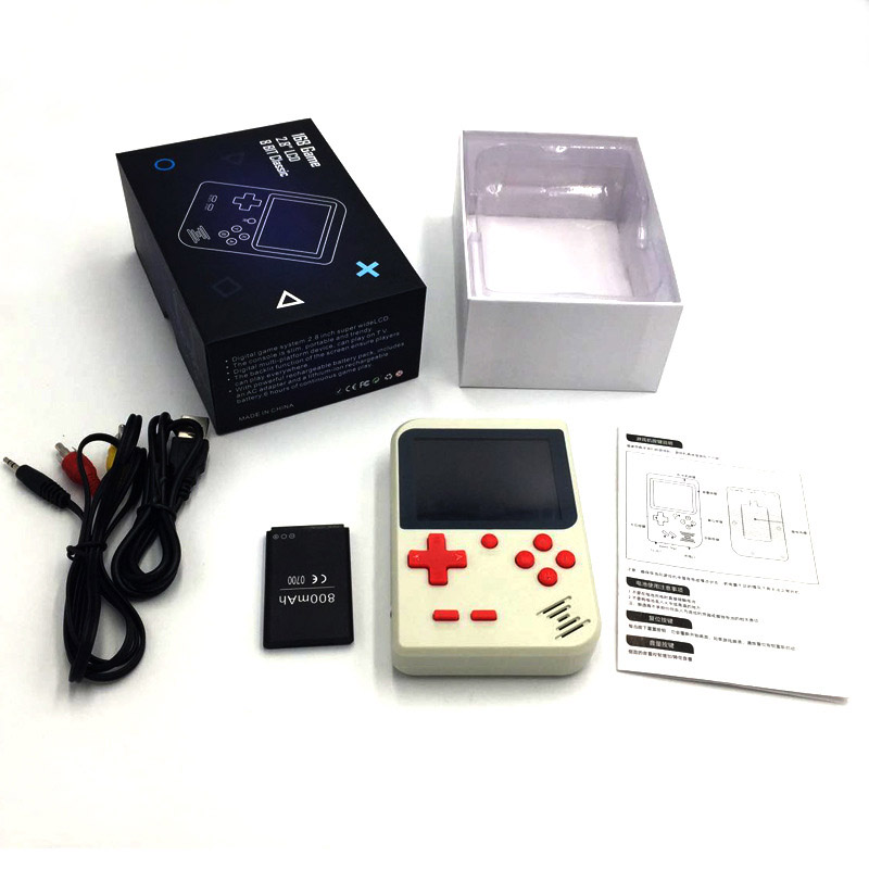Image 2 - Handheld Game Console Video Game 8 Bit Portable Mini Retro Game Console 168 Games children boy nostalgic  Player-in Handheld Game Players from Consumer Electronics