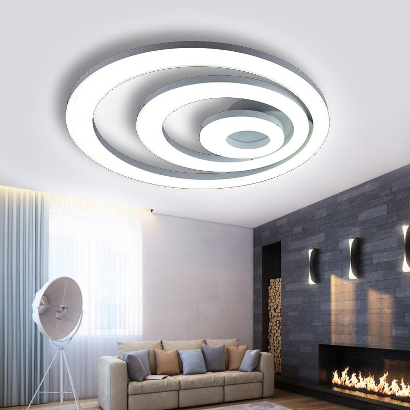Interesting Chaude Moderne Led Surface Mont Plafond Lustre