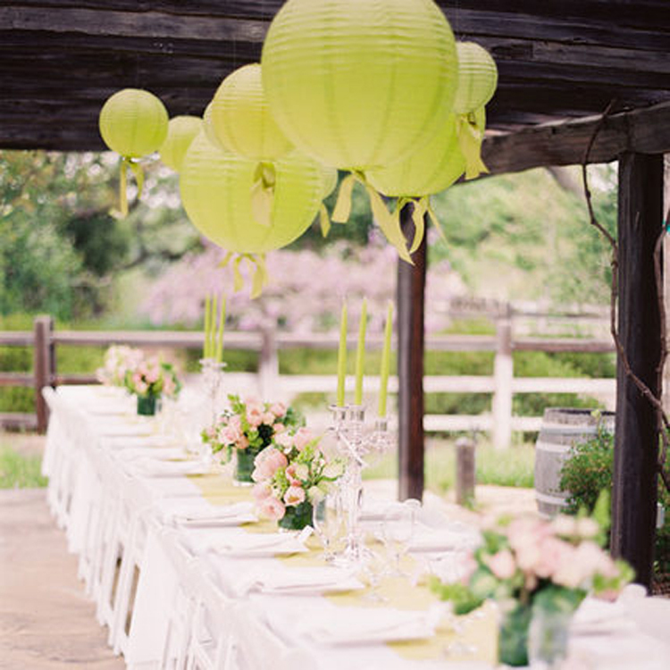 1230cm Round Paper Lanterns For Homeparty Decorations Wedding