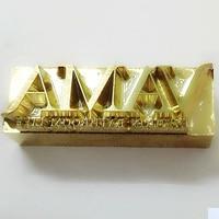 Metal Brass Mould Wood Leather Stamp Custom Logo Design Tool Branding Plates Plastic Cake Bread Mold