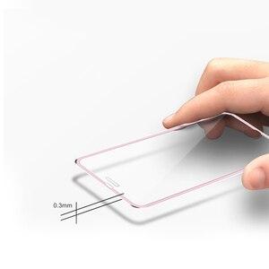 Image 3 - Protector de pantalla completo 9D para iPhone, Protector de pantalla de vidrio templado de aleación de aluminio para iPhone 6 6S 7 8 Plus 11 X XS Max XR 5 SE 5S