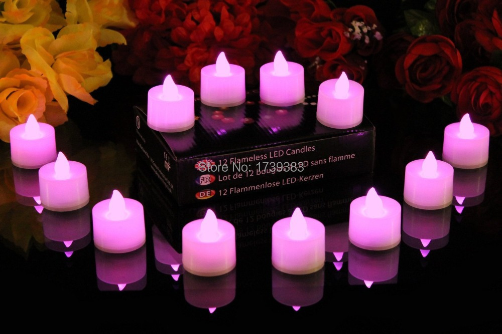 20pcs/lot Wick LED Flameless Candle Light,Romantic creative Voice Control Electronic Flickering Tea Light for Propose decorated