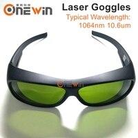 1064nm/10.6um Laser Safety Goggles Protective Glasses For YAG Fiber CO2 Laser engraving Welding Making