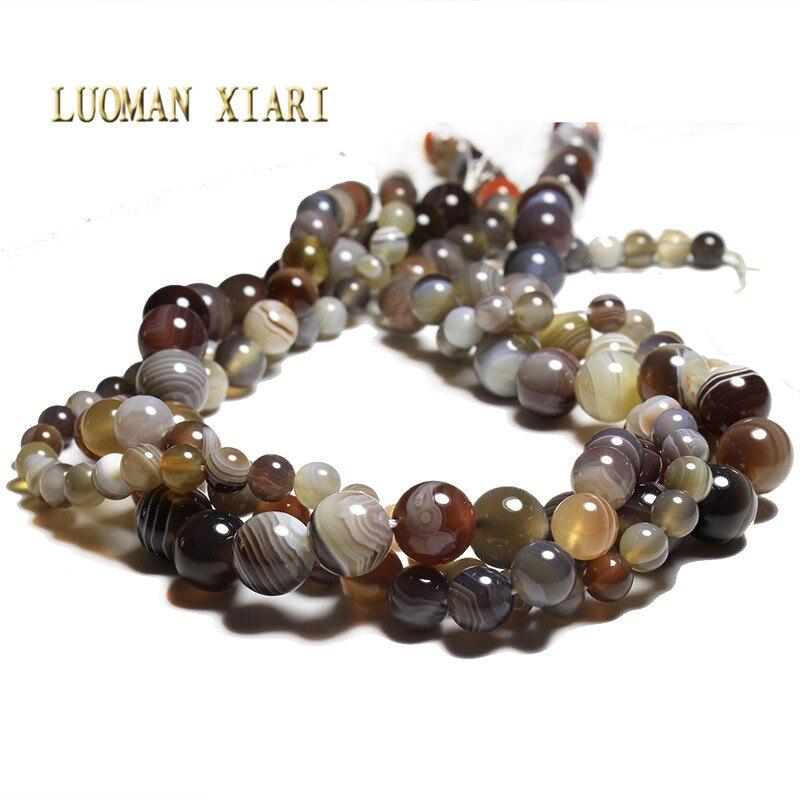 20320847a91e Superior AAA + ronda océano Jasper Piedra Natural cristal redondo perlas  para joyería hacer DIY pulsera