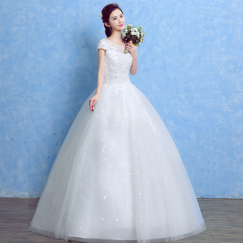 LAMYA Ivory Vintage Lace Princess Wedding Dress 2018 Red Ball Gown ...