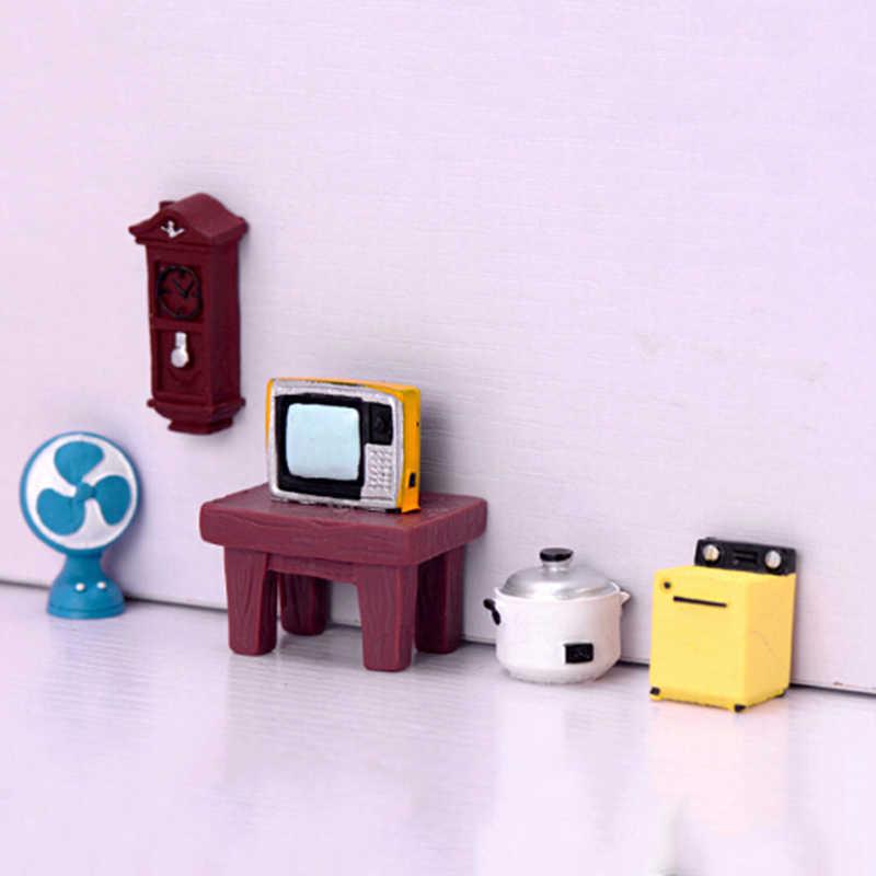 Kit de casa de muñecas DIY mini casa de muñecas accesorios Juguetes Para La habitación de los niños regalos de navidad 1: 12 casa de muñecas miniatura