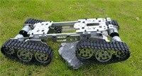 Металла с ЧПУ робот ATV Track Tank подвеска шасси препятствие пересечения гусеничный SN1300