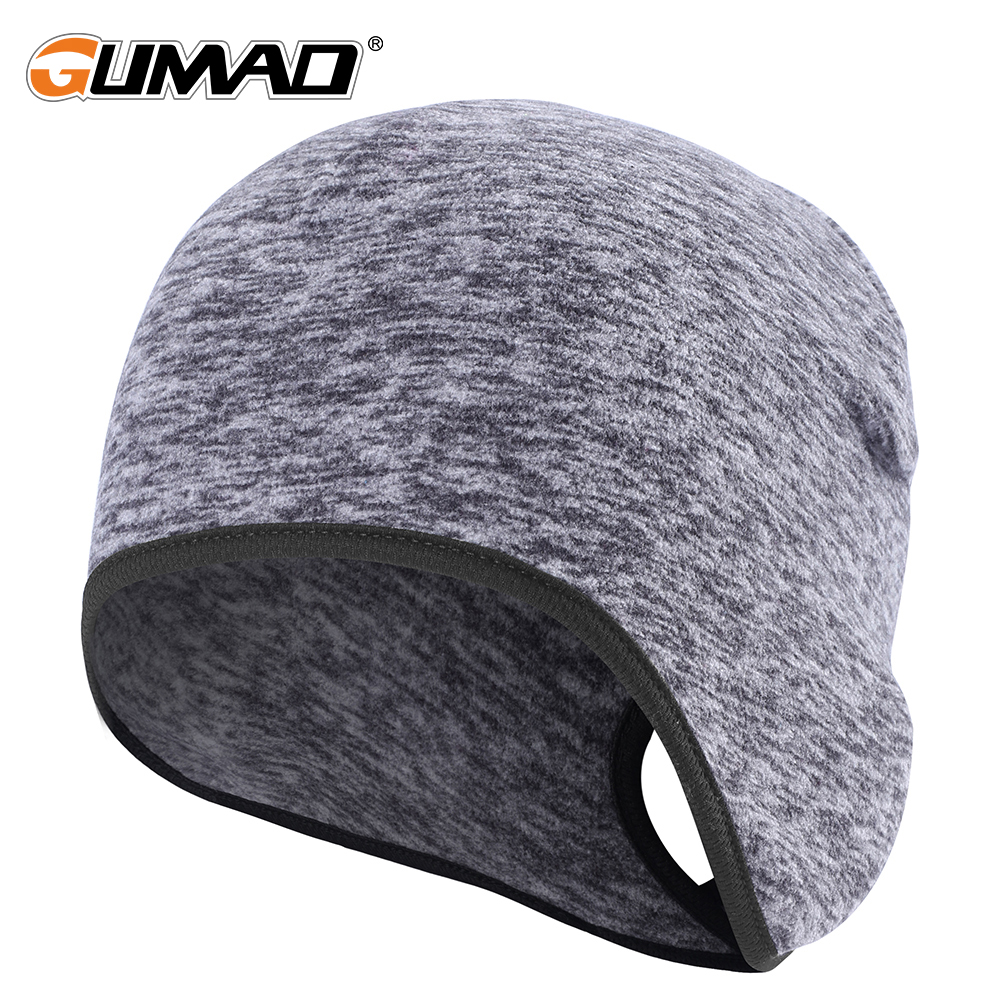 Outdoor Women Ponytail Fleece Running Hats Winter Warm Thermal Sports Bicycle Snowboard Hiking Cycling Cap Snow Windproof Skiing