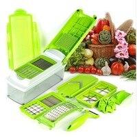 12pcs Kitchen Tool Set Super Slicer Plus Vegetable Fruit Peeler Dicer Cutter Chopper Shredder Salad Machine