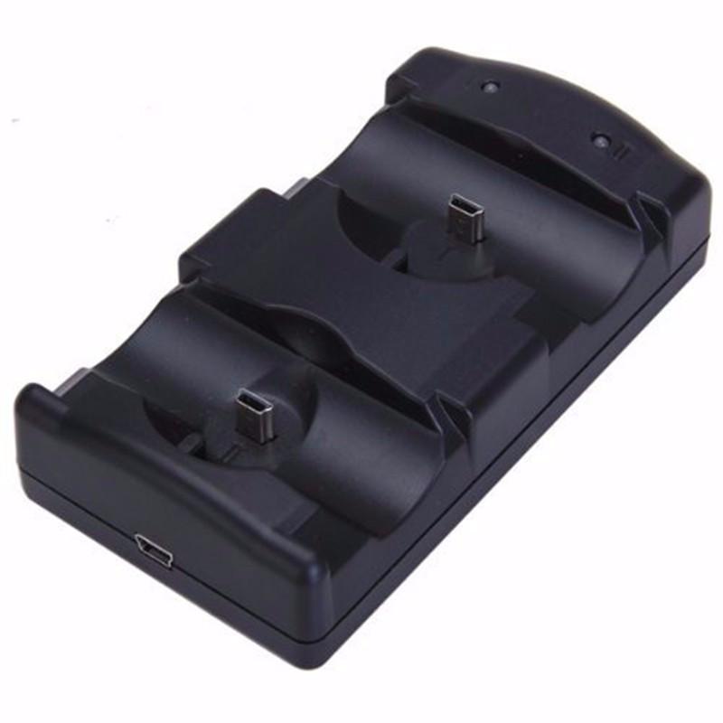 двойной порт USB зарядка работает док зарядное устройство для Сони игровые приставки 3 контроллер джойстик для Сони PS3 пульта и двигаться навигации