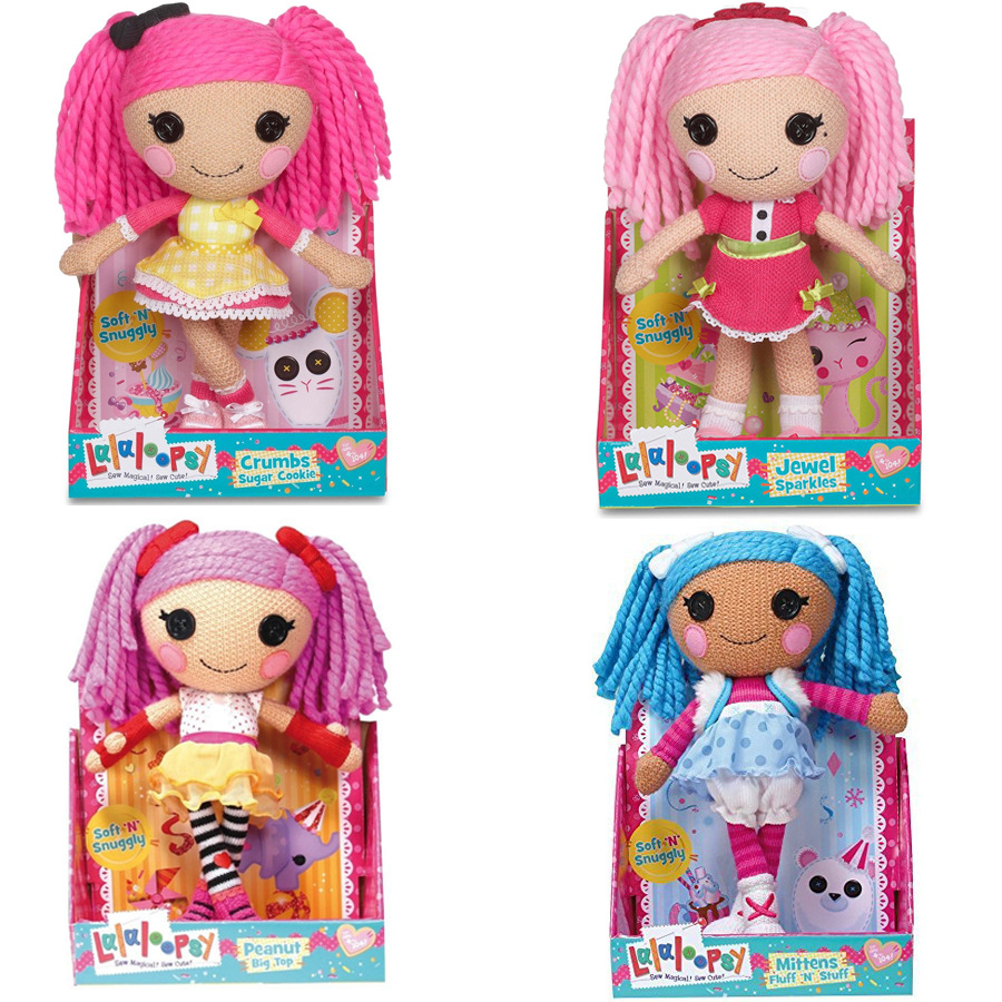 30cm Lalaloopsy Dolls Soft stuffed and plush Magic Hair Lalaloopsy toys girls Reborn dolls gifts NO BOX