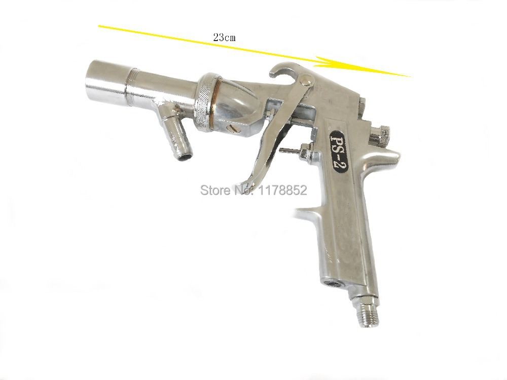 US $47 69 10% OFF|High quality spray gun Air Sandblaster spray gun Air  Sandblasting Gun Kit ,PS 2 ,3 5mm Air nozzle-in Spray Guns from Tools on