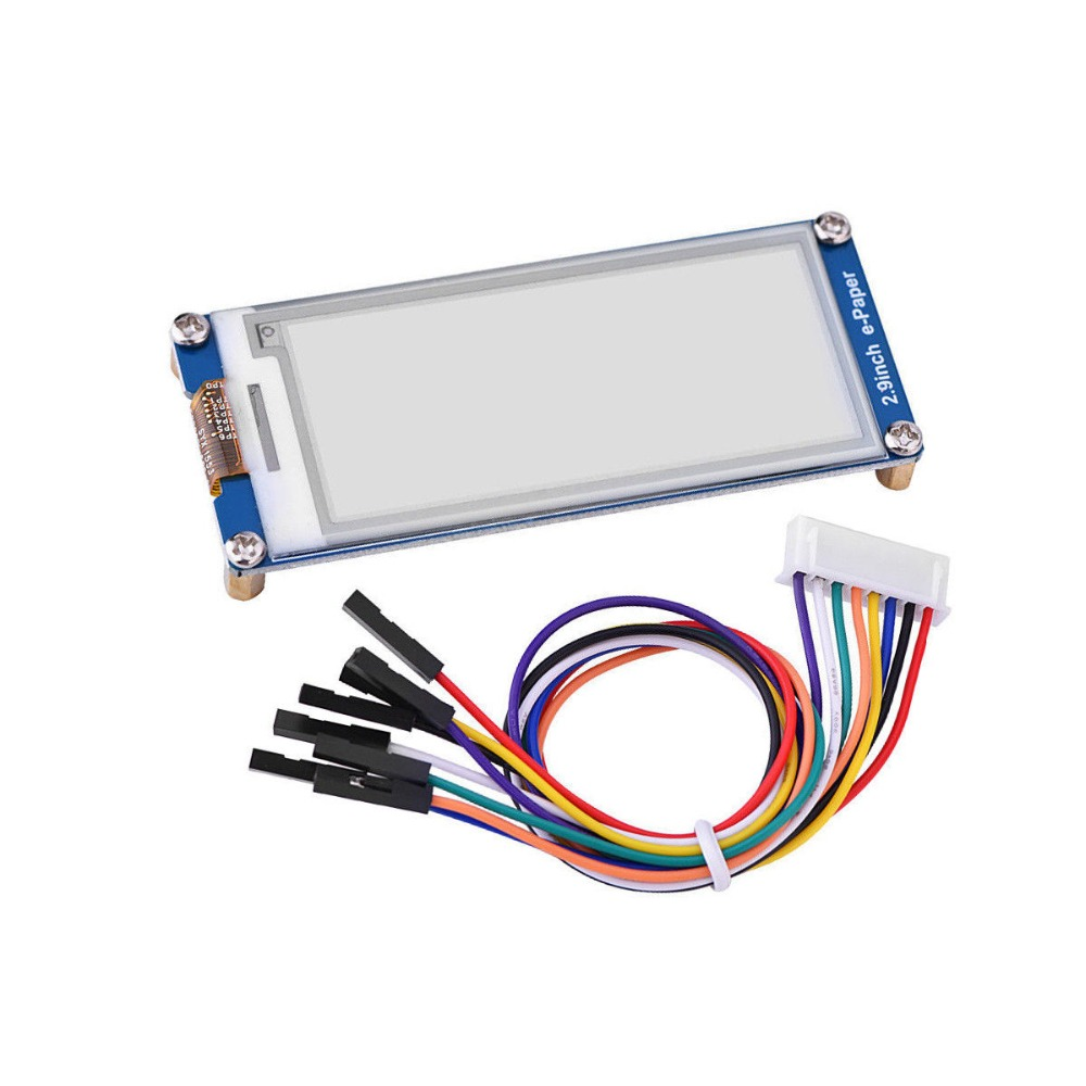 New 2.9inch E-Ink Display Module 296x128 Epaper For Raspberry Pi Arduino