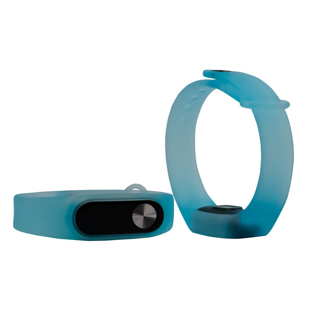 Transparent Strap for Mi Band 2 3 Bracelet Sport Smart Band Watch Silicone Wrist Strap for Xiaomi Mi Band 2 Bracelet