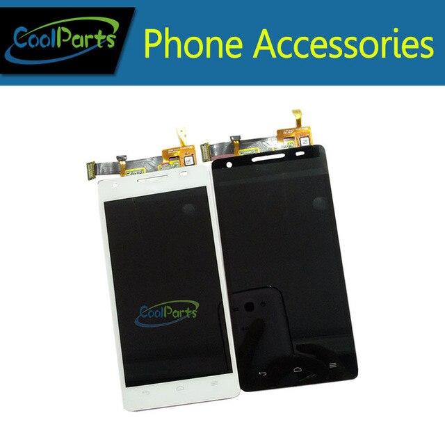 1 Шт./лот Высокое Качество черно-Белый Цвет Для Huawei Honor 3 ЖК-Дисплей и Сенсорный Экран Digitizer Ассамблея Бесплатная Доставка