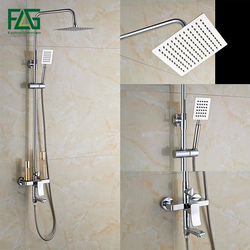 Bath And Shower Taps flg bathroom shower faucet set bathtub faucets shower mixer tap bath