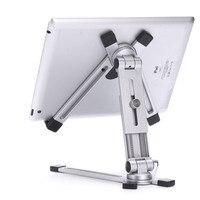 Adjustable Desk Stand Metal Tablet Holder 360 Bracket for iPad mini 5 air 2 pro 12.9 11 9.7 Mipad Samsung Galaxy Tab 4 13 Inch
