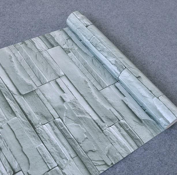 Genuine waterproof stone&brick furniture refurbished stickers self-adhesive wallpaper furniture film wardrobe door wallpaper