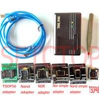 Проман nand flash программист NAND ни TSOP48 FLASH программист TL866 плюс программист nand flash восстановления данных адаптер разъем