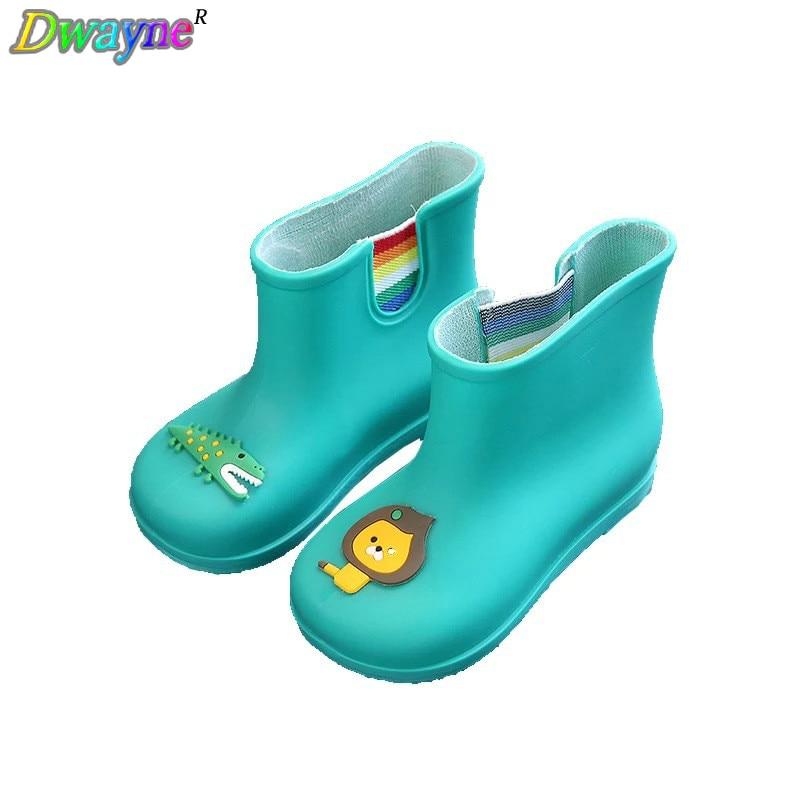 Dwayne nieuwe antislip warme laarzen cartoon leeuw krokodil kinderen - Kinderschoenen - Foto 1