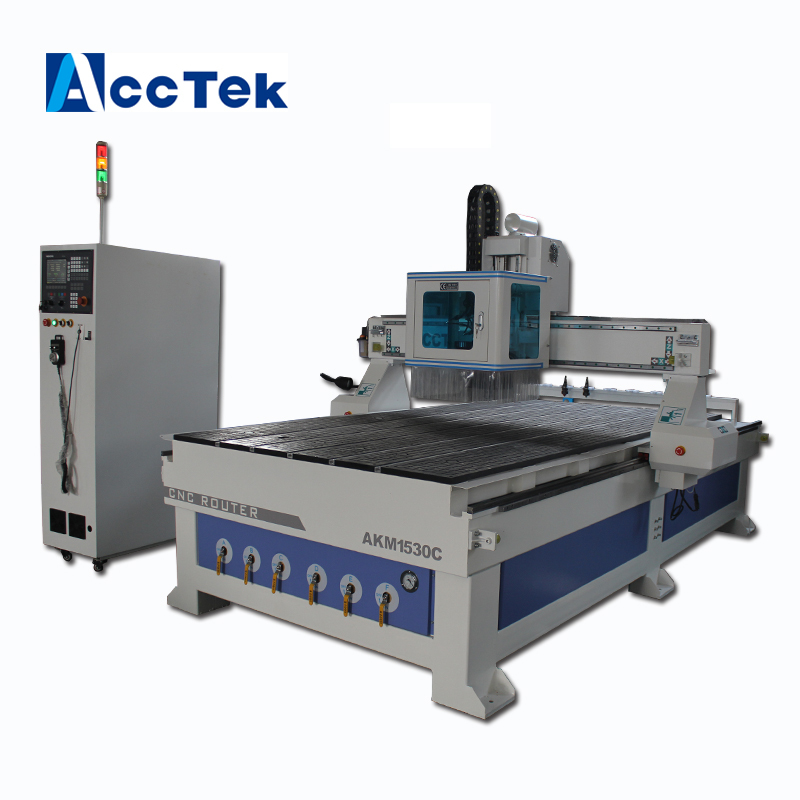 Vacuum table 1530 cnc router machine high precision linear atc wood cnc router machine
