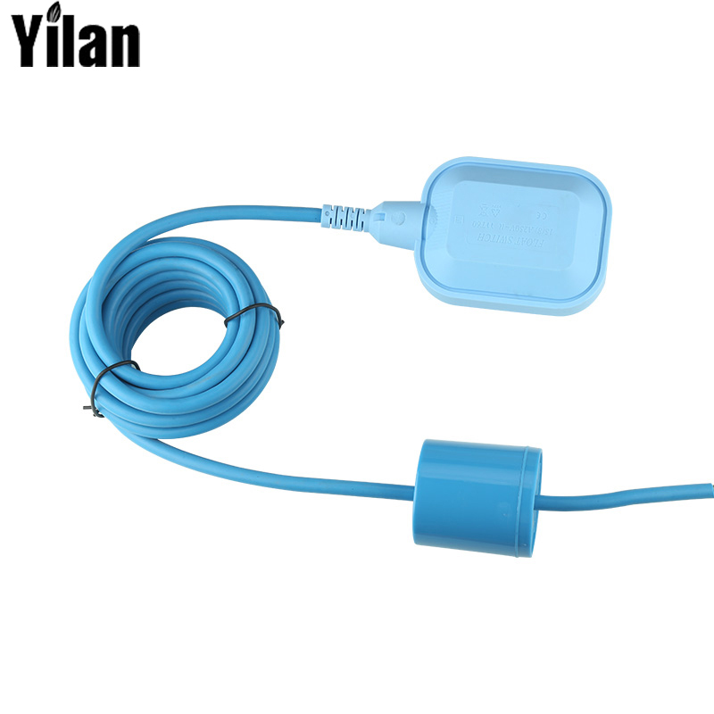 Silicone Wire High Temperature Float Switch Automatic Water Level Controller Water Tower Water Tank Pump Float Level Controller 4a 8a level float switch pp water level control for water pump water tower tank normally closed