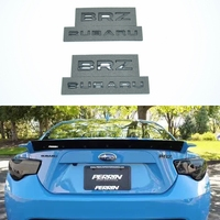 JK New Universal BRZ And Subaru Excellent Smooth Glossy Emblem Badge For Subaru Car Sticker Accessories