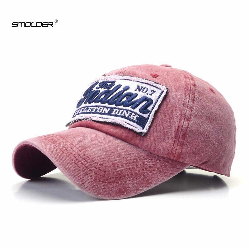 [Smold] العلامة التجارية الجديدة قبعات الموضة النساء الرجال قبعة بيسبول المجهزة عادية قبعات ترد لمكانها التطريز الهيب هوب قبعات البيسبول