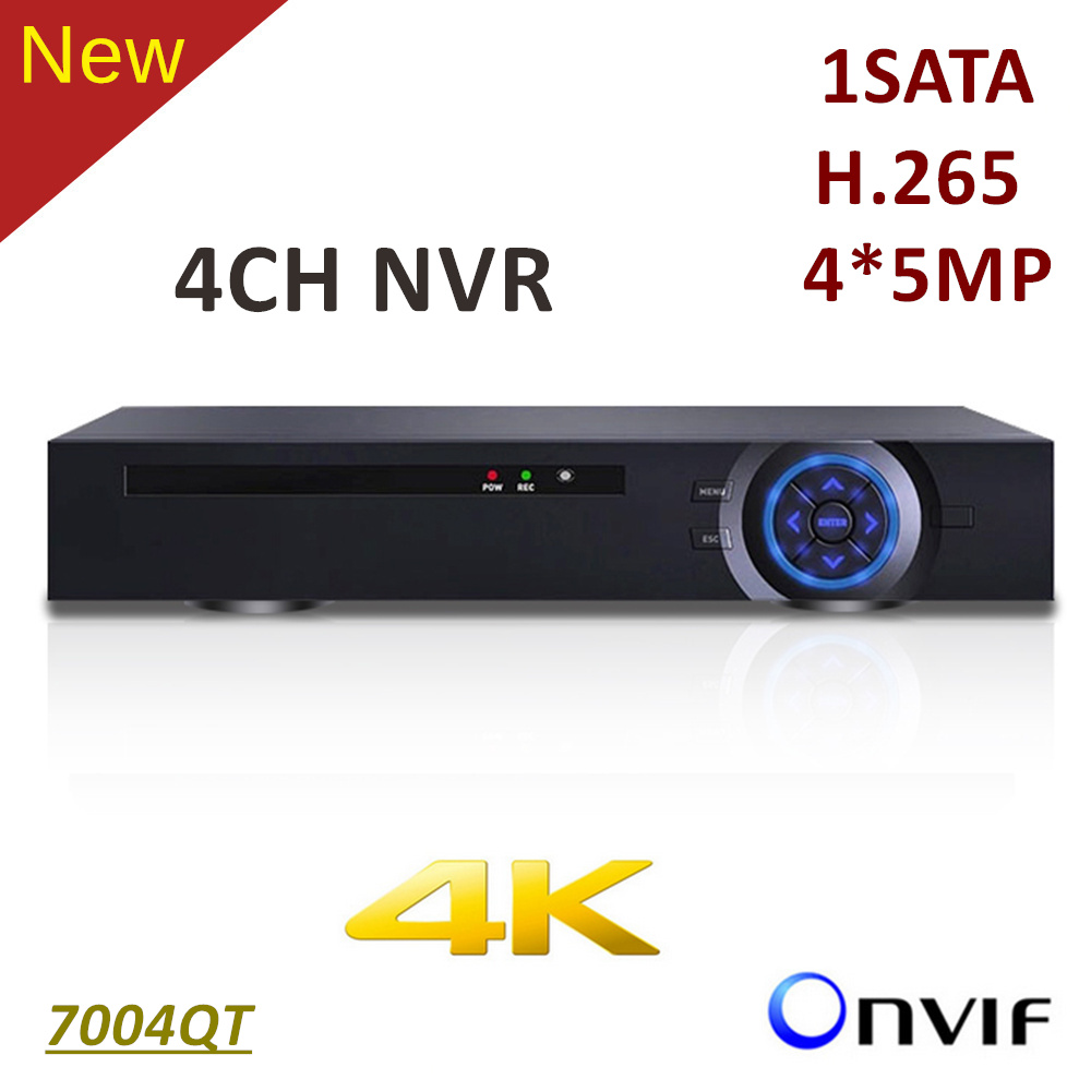 ElitePB 4K 4ch NVR HD1080P H.265 1 sata CCTV IP Network Video Recorder Support Onvif and 4*5MP IP Camera Mobile monitor h 265 h 264 4ch 8ch 48v poe ip camera nvr security surveillance cctv system p2p onvif 4 5mp 4 4mp hd network video recorder