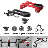 Handle Rider Computer Mount Holder Bicycle Headlight Bracket Handlebar Extension Adapter Support For GARMIN GPS Edge