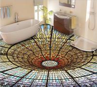 3d Flooring Custom Waterproof Wallpaper 3 D The Dream Is Colorful 3d Bathroom Flooring Picture Photo
